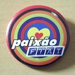 Botons Personalizados Paixão Fiat
