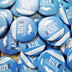 Botons personalizados Novembro Azul