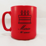 Canecas de café personalizadas Maria 90 anos