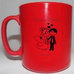 Canecas de café personalizadas Vanessa e Fabrício