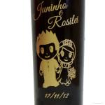 Copos Long Drink Personalizados Jailson e Thamyris