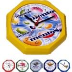 Relógios de parede oitavado personalizado