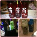Copos long drink personalizados para casamento