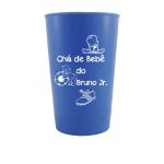 Copos caldereta personalizados Chá de bebê do Bruno