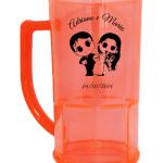 Canecas de chopp personalizadas Adriano e Maria