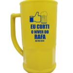 Canecas de Chopp personalizadas Niver do Rafa