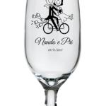 Taças de cerveja floripa 300ml Nando e Pri