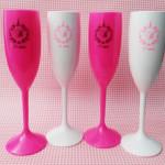 Taças de acrilico personalizadas Bianca