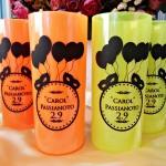 Copos long drink personalizados para aniversário Carol 2.9