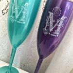 Taças de acrilico personalizadas M 9 anos