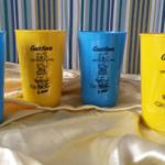 Copos caldereta personalizados Gustavo 8 anos