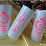 Copos long drink personalizados 15 anos Carol