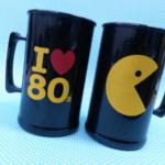 Canecas de acrilico personalizadas I love 80