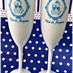 Taças de acrilico personalizadas Chá do Joaquim