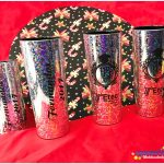 Copos long drink metalizados personalizados para formatura