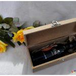 Estojo para vinho em MDF personalizado