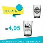 copos de vidro personalizados bar