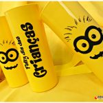 Copos long drink personalizados Minions