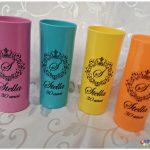 Copos long drink personalizados Stella 30 anos