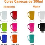 CANECAS DE 300ML CORES