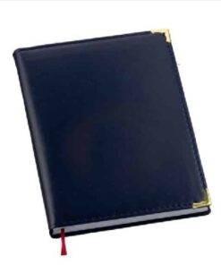 Agenda Lisa Azul Personalizadas
