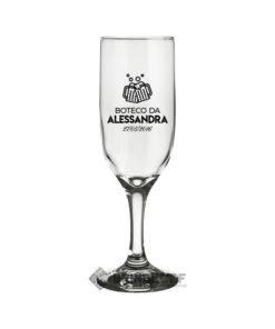 Taças de Vidro Personalizadas para Champanhe Windsor 210ml