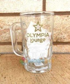 Caneca de Vidro Lotus 350ml Olympia Lounge
