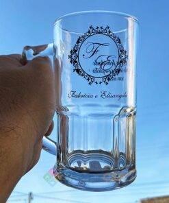 canecas de chopp de vidro personalizadas