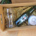 Caixinha de Mdf com copo abridor personalizados