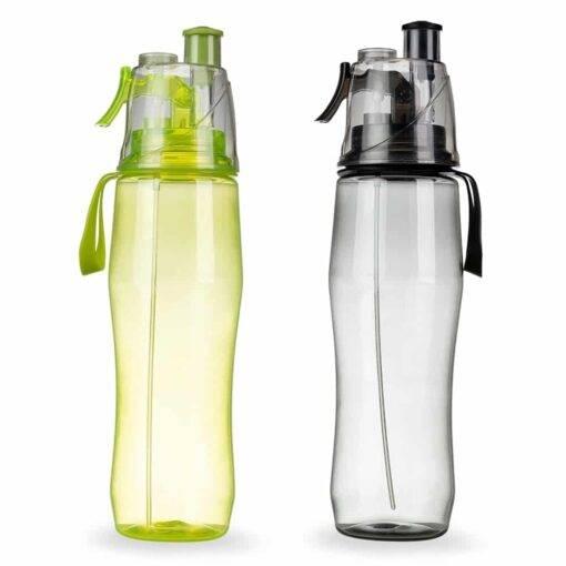 Squeeze Plástico 700ml com Borrifador Personalizado
