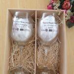 baronecaixa de mdf personalizadas com taças barone 385 ml
