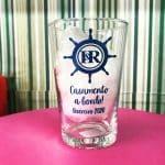 copo de vidro personalizado