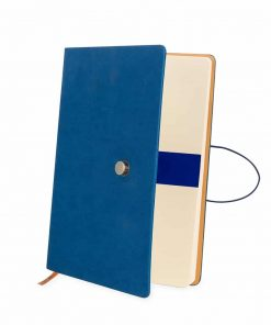 Caderneta-Tipo-Moleskine-com-Fech Personalizada